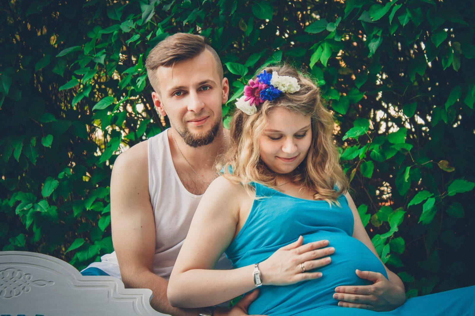 malzenstwo ciaza para sesja brzuszkowa milosc rodzice