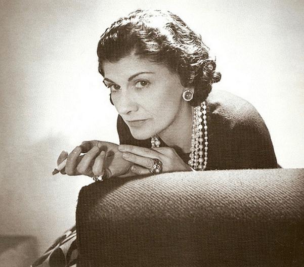 Coco Chanel projektantka Gabrielle Bonheur Chanel