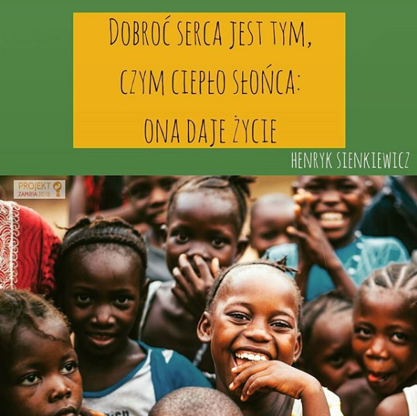 Dobroć serca pomoc Projekt Zambia Toruń
