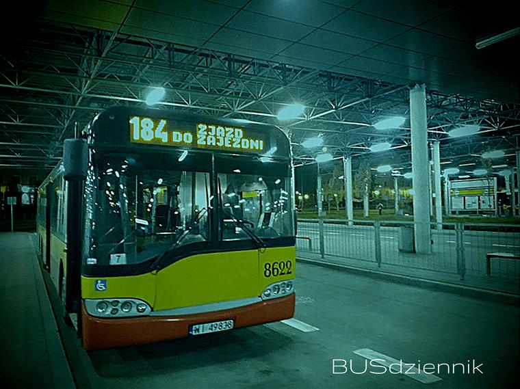 autobus 184 zajezdnia kierowca komunikacja miejska