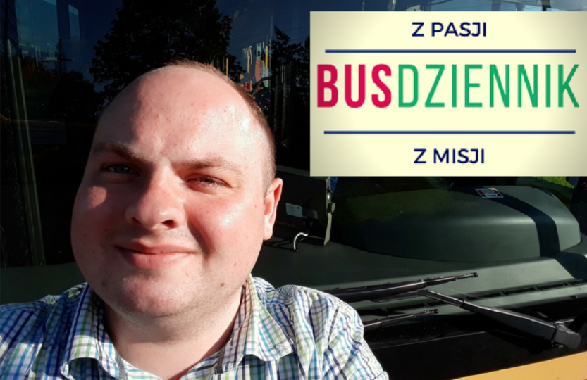 kierowca autobus BUSdziennik pasażer przystanek