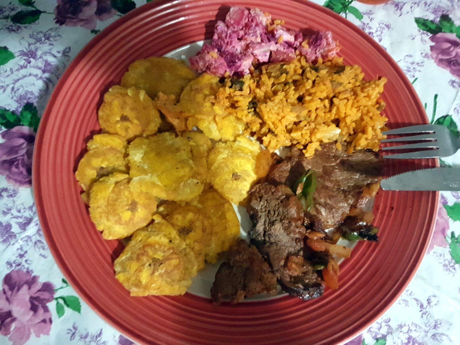 Patacones platany plantany panama obiad posiłek danie
