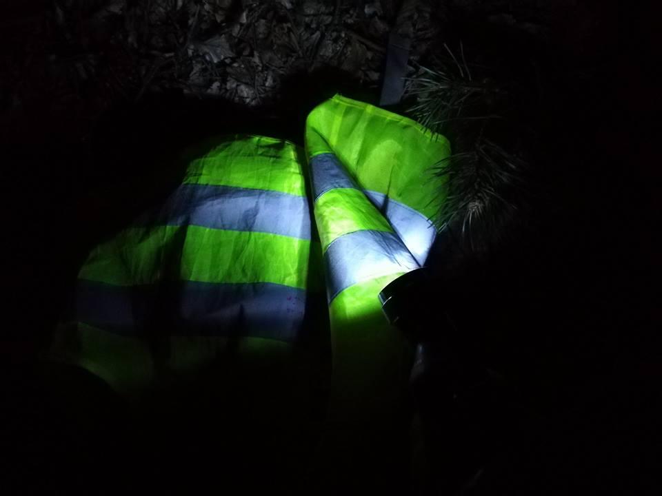 Noc EDK Ekstremalna Droga Krzyżowa kamizelki odblaskowe