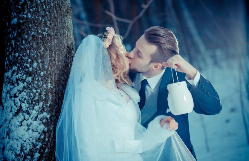 ślub jak z bajki malzeństwo sesja slubna welon