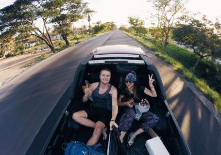 Na nowej Drodze życia autostop asia i adam dzieliccy podróż
