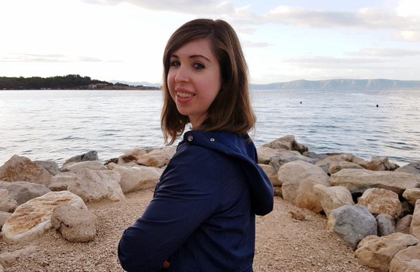 Chrześcijanka z sąsiedztwa, morze, plaża